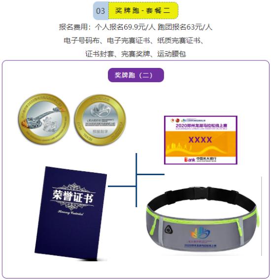 光大银行杯2020郑州龙湖马拉松线上赛报名开启